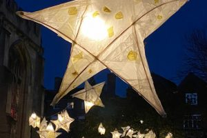 Winter Lantern Trail at The Corn Exchange – including pictures of the lanterns forming part of the display!