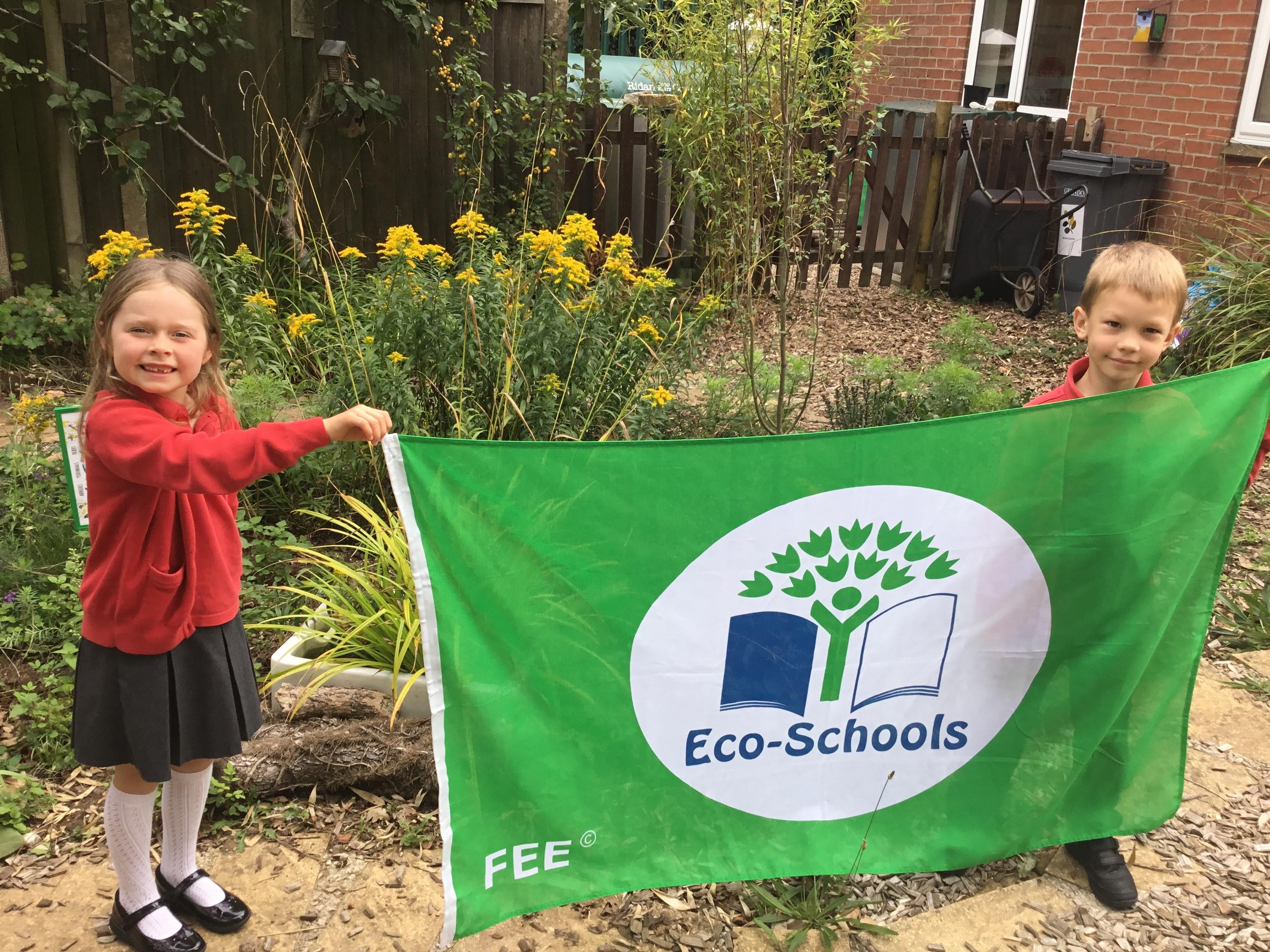 Eco - Green flag